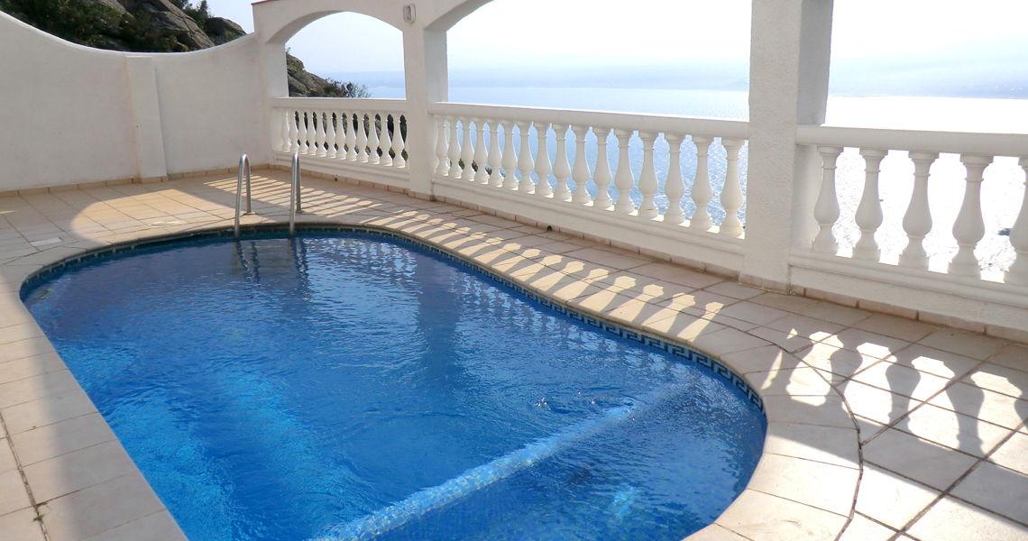 location villa roses espagne magnifique villa costa brava - Location Villa Piscine Costa Brava